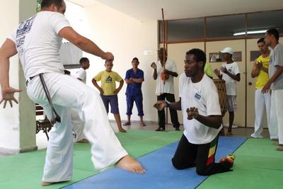Portal Capoeira Semana da Educação Especial é comemorada por técnicos da Semed Capoeira sem Fronteiras