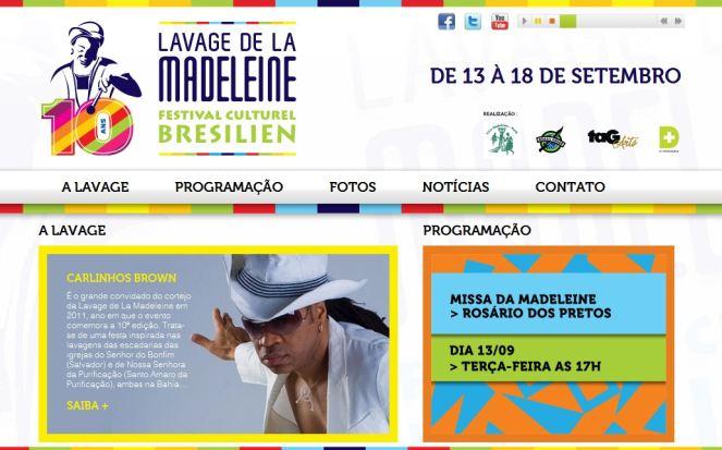 Portal Capoeira Lavagem de Paris ganha hot site Cultura e Cidadania