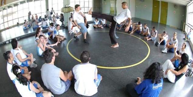 Portal Capoeira Aconteceu: III Encontro da Capoeira Inclusiva de Santos Capoeira sem Fronteiras