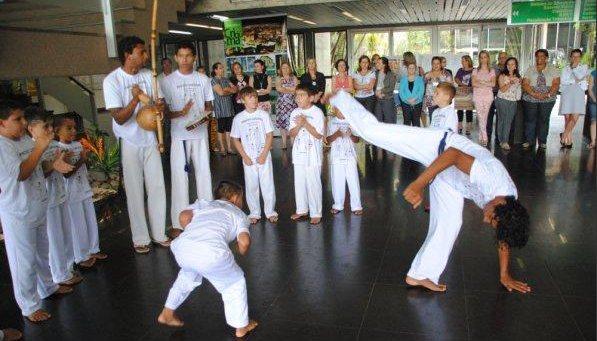 Portal Capoeira Intercâmbio de capoeira em Criciúma Eventos - Agenda