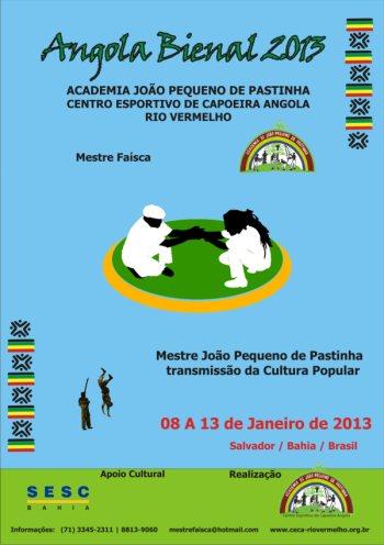 Portal Capoeira Angola Bienal - 2013 Eventos - Agenda