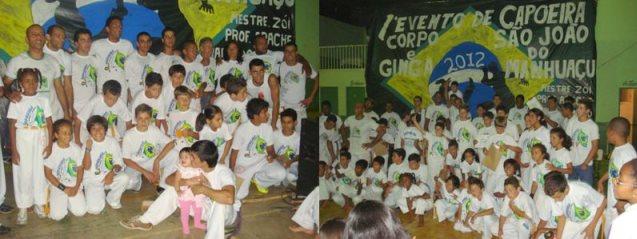 Portal Capoeira Aconteceu: 1º evento de Capoeira Corpo e Ginga Eventos - Agenda