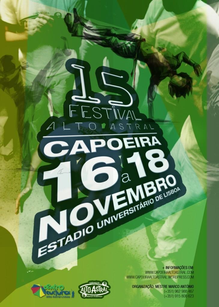 Portal Capoeira Portugal: 15º Festival Alto Astral Eventos - Agenda