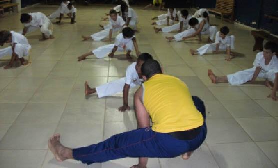 Portal Capoeira APAE: Capoeira promove a inclusão social Capoeira sem Fronteiras