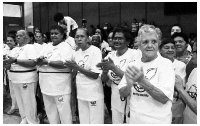 Portal Capoeira Taubaté: Capoeira na 3 ª idade - inscrições abertas Cidadania