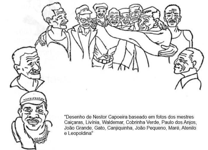 Portal Capoeira Nestor capoeira: Encontros com grandes  mestres - Caiçaras e Canjiquinha Publicações e Artigos