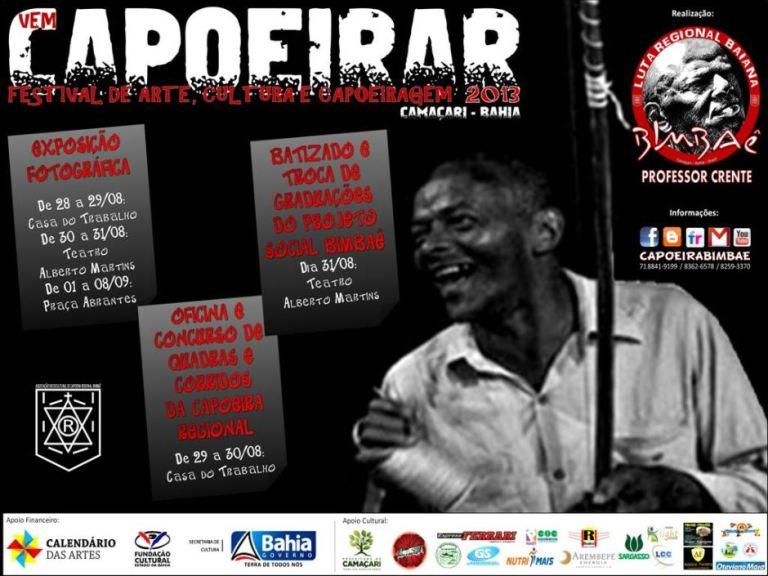 Portal Capoeira Vem Capoeirar: Festival de Arte, Cultura e Capoeiragem Eventos - Agenda