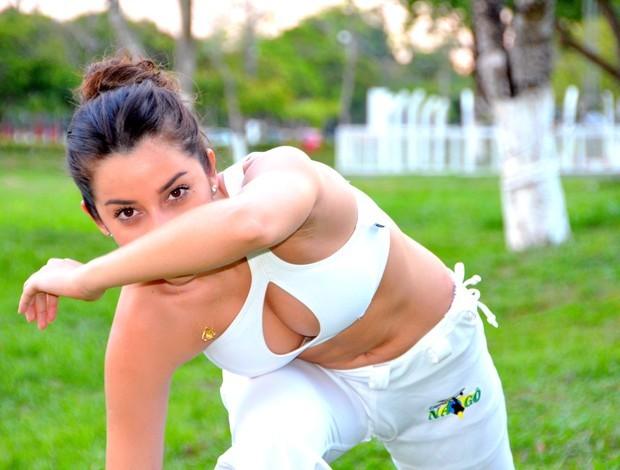 Acre: Boxe, capoeira e kung fu: musa concilia lutas com estudo e profissão