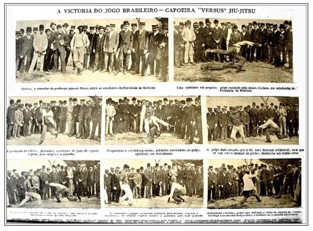 """Portal Capoeira """"A Victoria do Jogo Brasileiro: Capoeira Versus Jiu-Jitsu"""" Publicações e Artigos"""