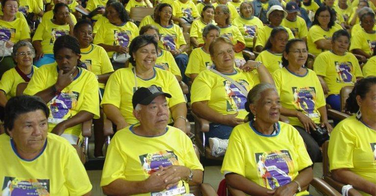 Capoterapia oferece 2,5 mil vagas para idosos no DF e no Entorno