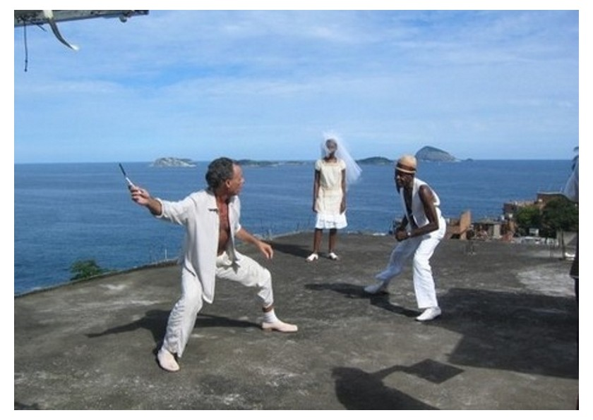 Nestor Capoeira e Mestre Leopoldina