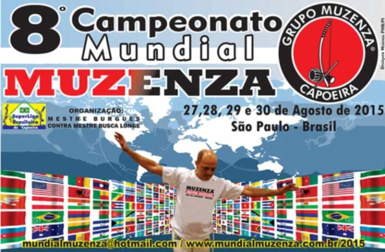 Portal Capoeira Campeonato Mundial de Capoeira do Grupo Muzenza 2015 Eventos - Agenda