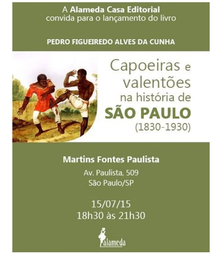 Portal Capoeira Dois Livros e a Capoeira na Ponte Aérea Recife-São Paulo O Capoeireiro