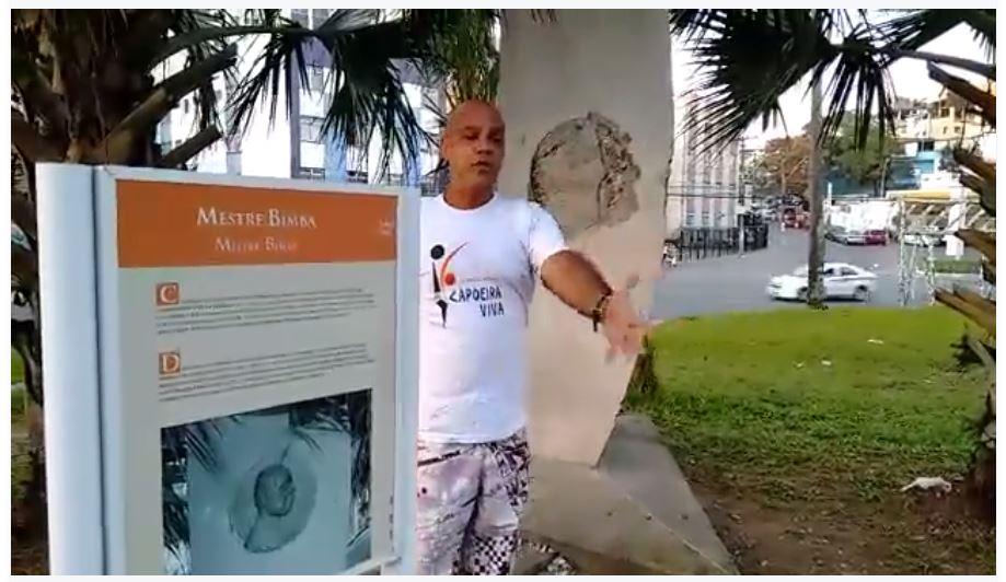 Portal Capoeira Bahia: Vandalismo e Desrespeito ao Grande Mestre Notícias - Atualidades