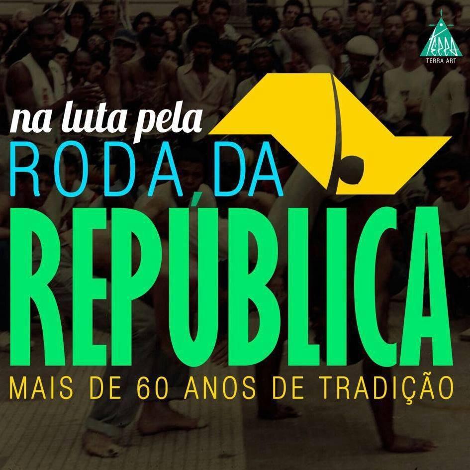 """Mestre Ananias e """"O Legado da Roda na Praça da República"""" Geral Portal Capoeira 1"""