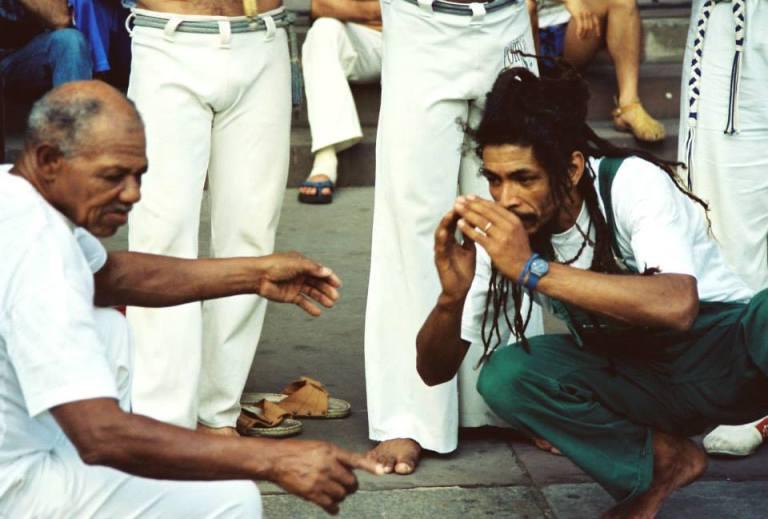 Portal Capoeira Contemplações: De dar um exemplo... Contemplações