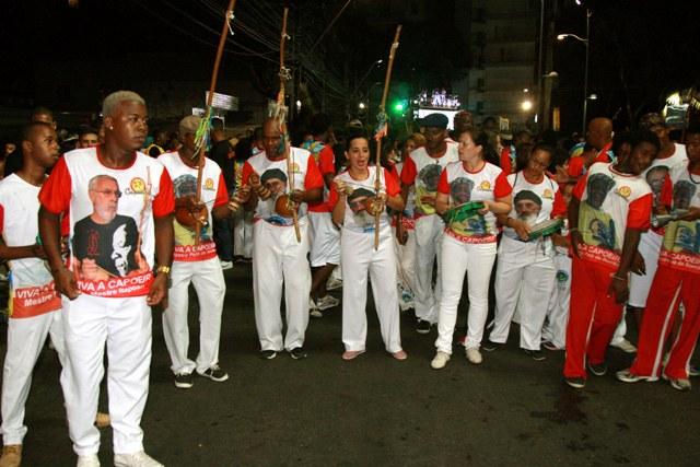 Bahia: Bloco da Capoeira comemora dez anos de folia Geral Portal Capoeira 1
