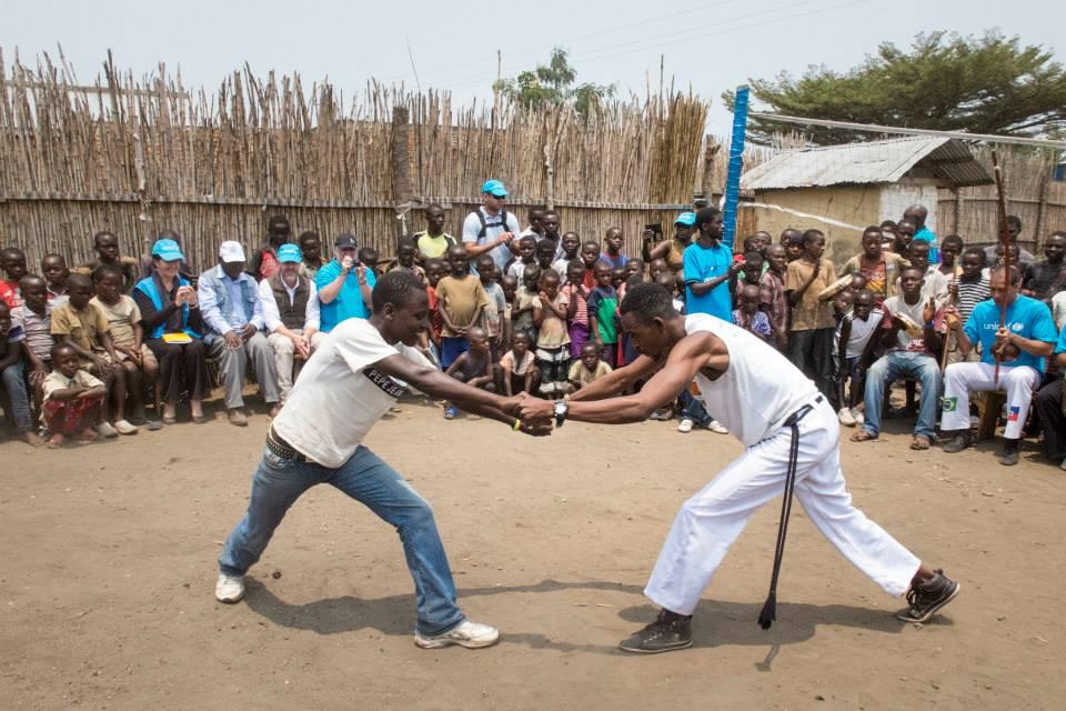 Portal Capoeira A Capoeira na R.D.C Cidadania