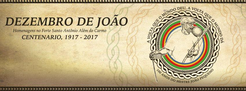 CENTENÁRIO DO MESTRE JOÃO PEQUENO Capoeira Eventos - Agenda Portal Capoeira 2