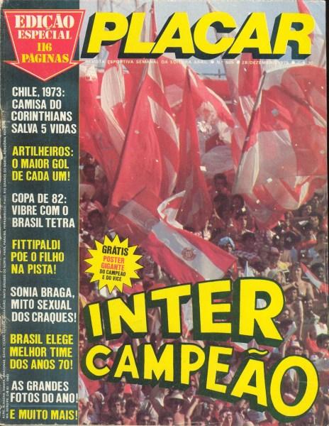 Mestre Pastinha na Revista Placar – dez 1979 (1)