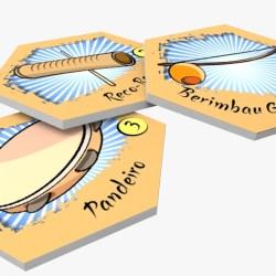 Jovem cria jogo de tabuleiro para ensinar história da capoeira a alunos do fundamental Curiosidades 3