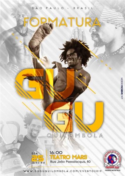 SP: Evento Integrado e Formatura Gugu Quilombola Eventos - Agenda Portal Capoeira