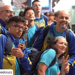 3º Acampamento Internacional de Artes Marciais da Juventude – ICM UNESCO Capoeira 1