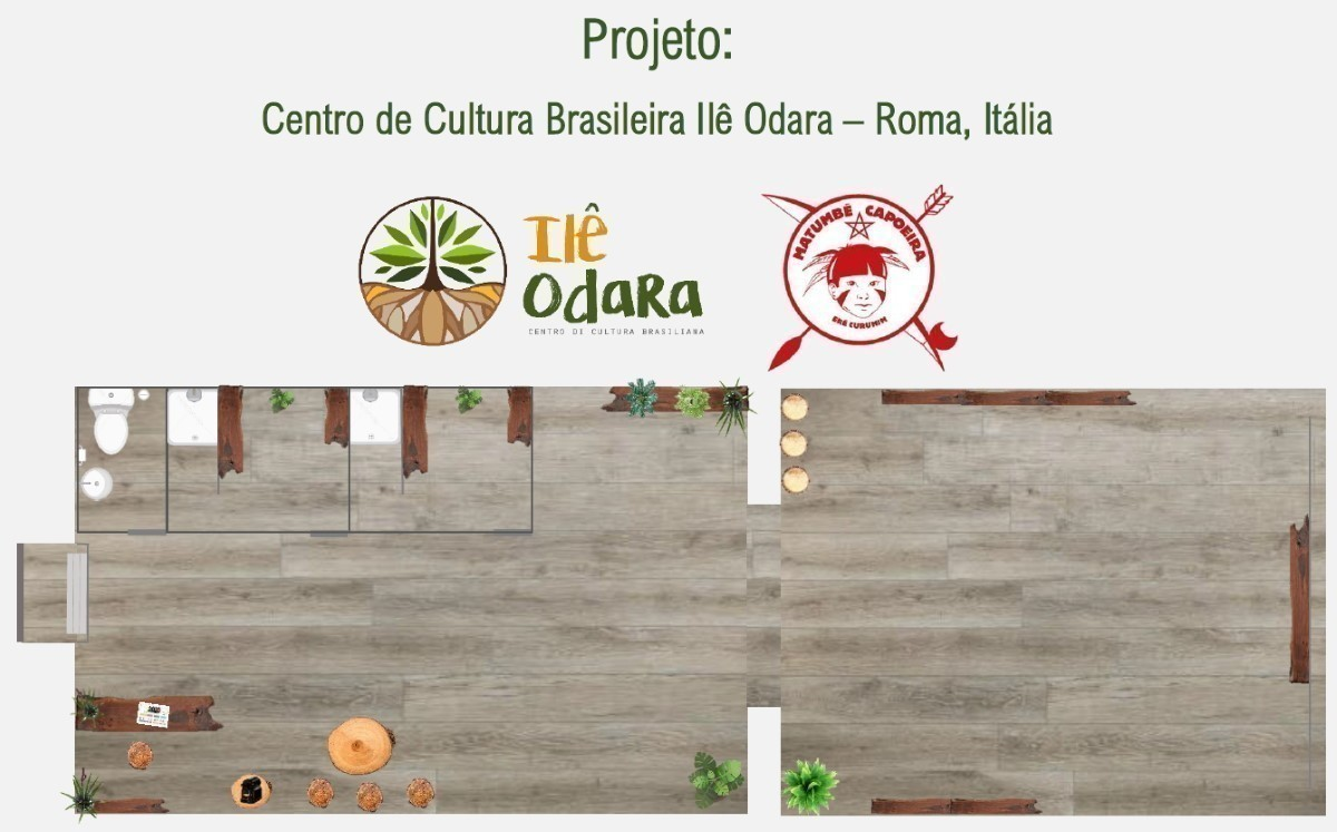 Projeto: Centro de Cultura BrasileiraIlê Odara Cidadania Portal Capoeira