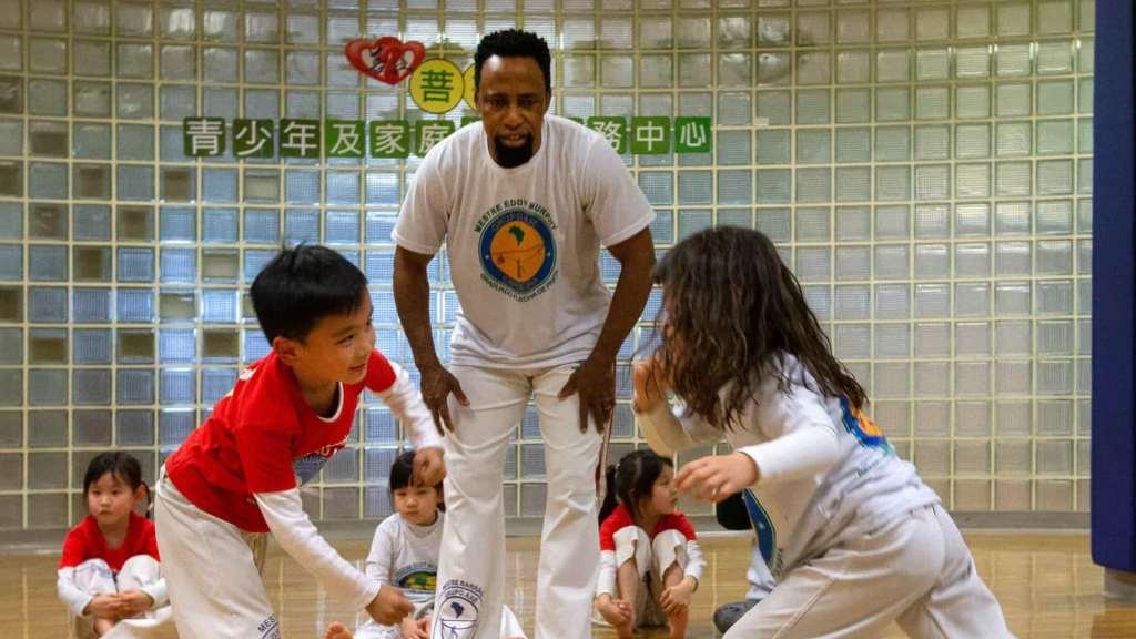 """Macau tem capoeira """"sim senhor""""!"""