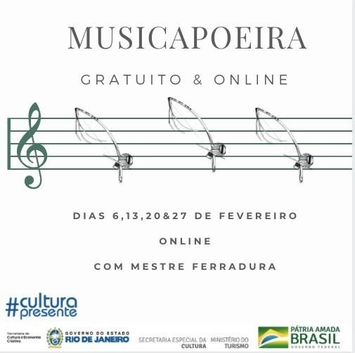 Portal Capoeira Curso Musicapoeira - Gratuito & Online Capoeira Notícias - Atualidades