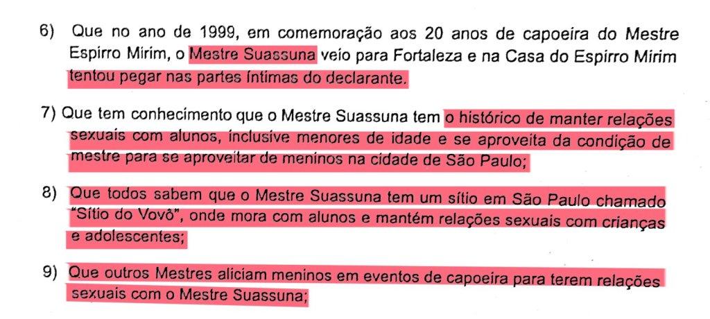 Portal Capoeira REPORTAGEM: Capoeiristas denunciam mestres de um dos maiores grupos do país por crimes sexuais Capoeira
