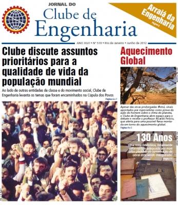 Jornal número 519 - Junho de 2012