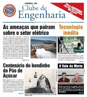 Jornal número 524 - Novembro de 2012