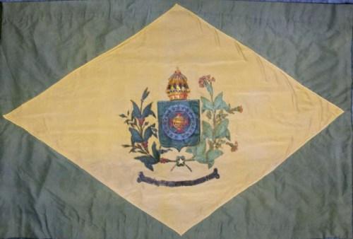 Bandeira do Império: relíquia da engenharia brasileira, patrimônio do Clube de Engenharia
