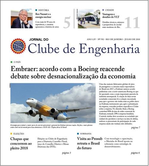 Jornal do Clube de Engenharia nº 592 – Julho de 2018