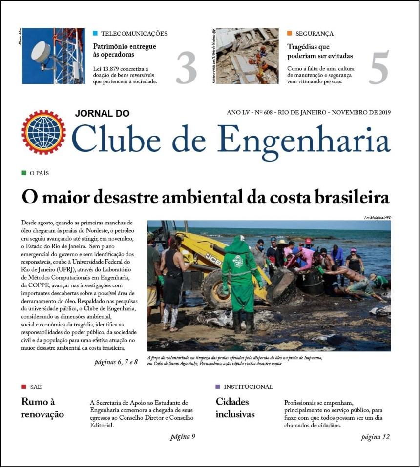 Jornal do Clube de Engenharia nº 608 - Novembro de 2019