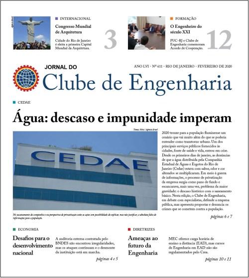 Jornal do Clube de Engenharia nº 611 – Fevereiro de 2020