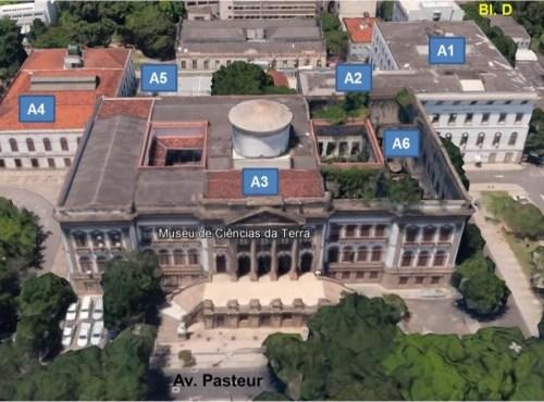 Criação do Centro de Referência em Geociências (CRG) no Rio de Janeiro