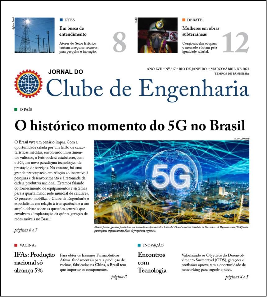 Jornal do Clube de Engenharia nº 617