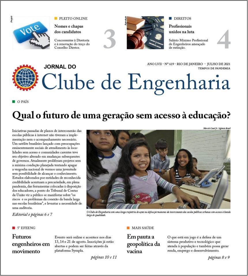 Jornal do Clube de Engenharia nº619