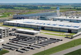 Vista Aérea da Montadora Hyundai/CAOA em Anápolis