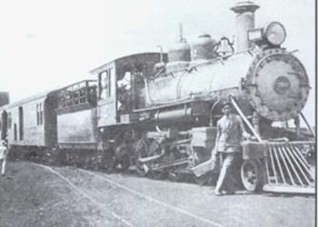 Chegada da estrada de ferro