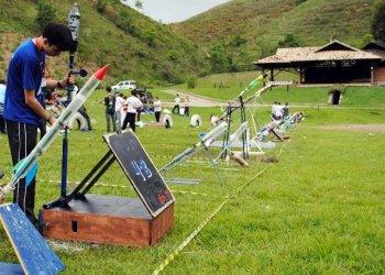 Mostra foguetes em Anápolis- Arquivo/Divulgação