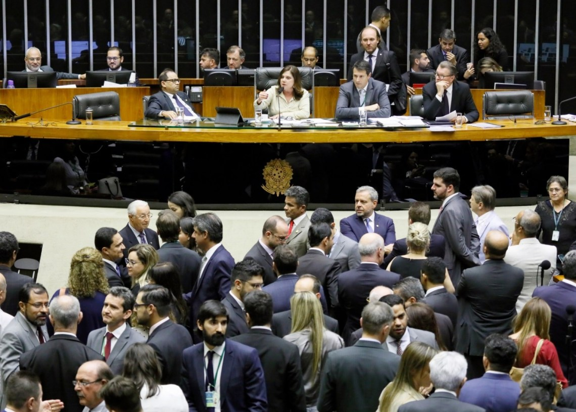 Deputados rejeitaram emendas do Senado e concluíram análise da proposta — © Luis Macedo/Câmara dos Deputados