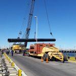 Argentina: Avanzan obras en muelles de cruceros de Puerto Madryn