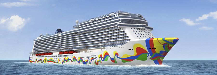 Norwegian Cruise Line revela diseño del Norwegian Encore