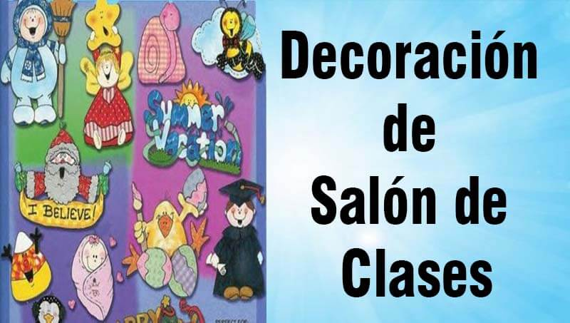 Decoraci n de sal n de clases preescolar inicial primaria for Decoracion para puertas de salon de clases
