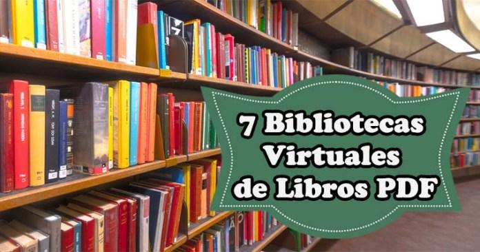 7 BIBLIOTECAS VIRTUALES DE LIBROS PDF GRATIS - Portal de ...