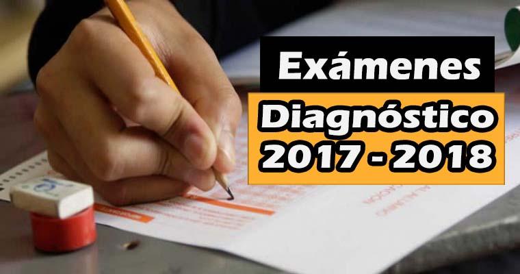 Exámenes de Diagnóstico de Todos los Grados 2017-2018