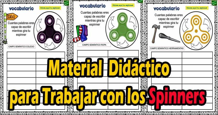 Material Didáctico para Trabajar con los Spinners